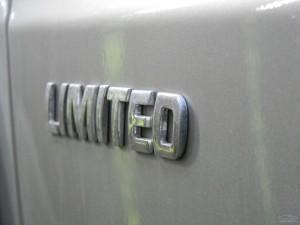 УАЗ Патриот шильдик Limited